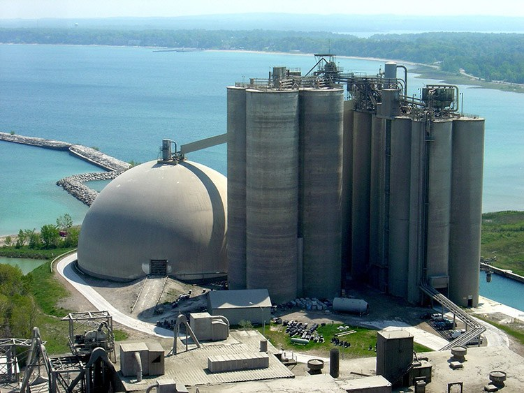 Charlevoix plant in Michigan, United States