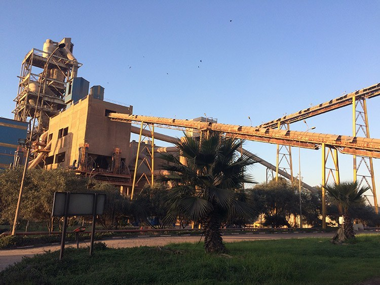 Temara cement plant in Morocco